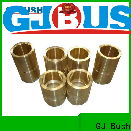 Custom flanged brass bushing factory for automotive industry